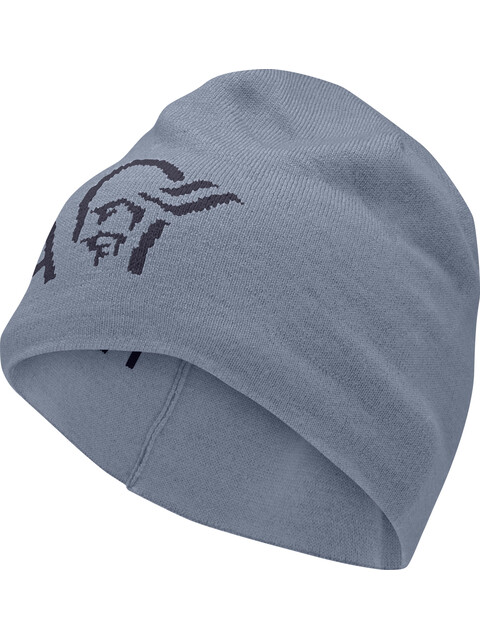 Norrøna /29 Thin Wool Logo Beanie Bedrock